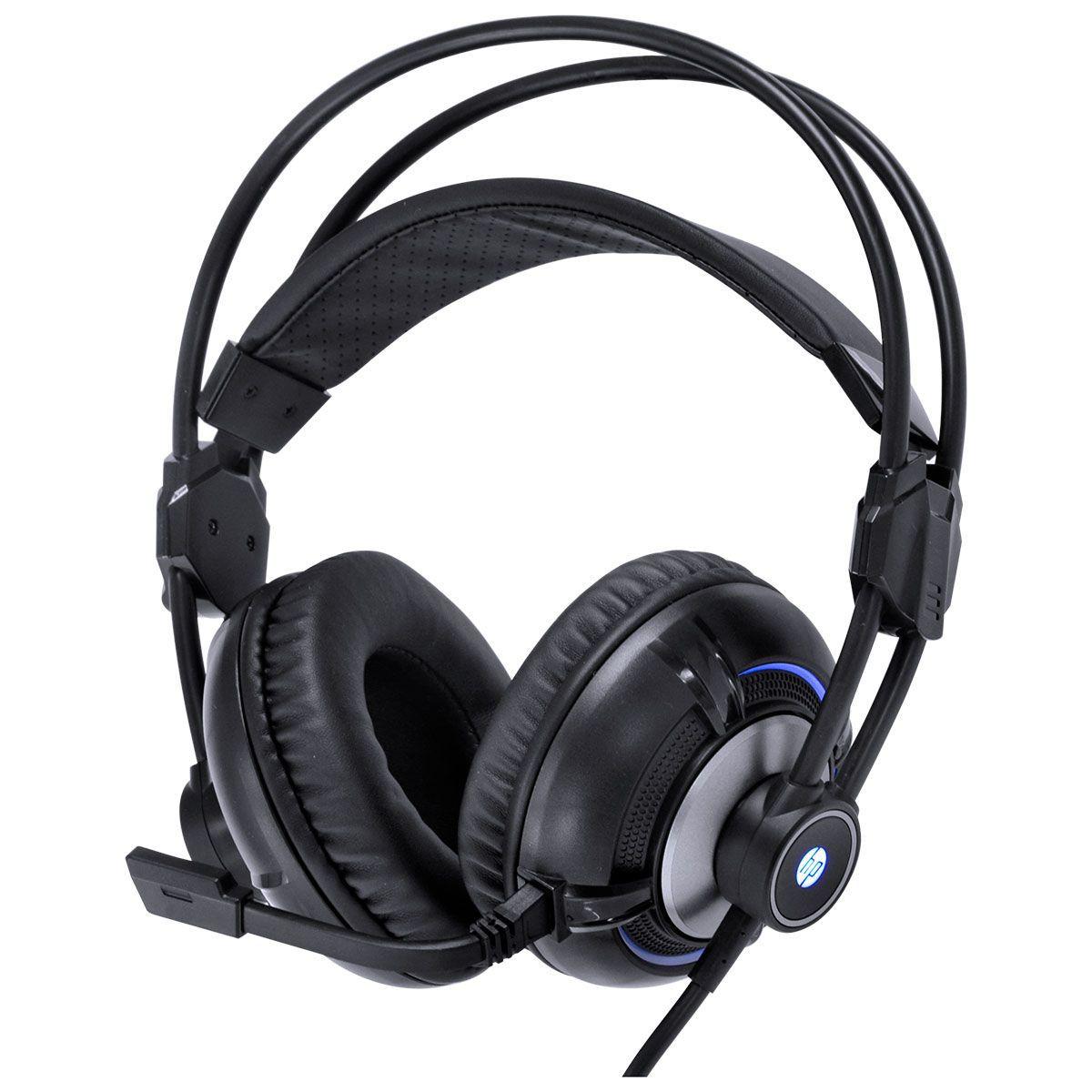 Headset Gamer H300 Preto 2.1 com Vibração - HP
