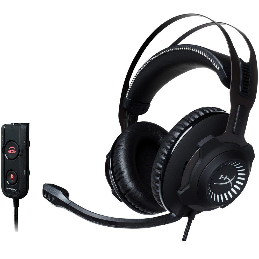 Headset Gamer HyperX Cloud Revolver S 7.1 Dolby Digital HX-HSCRS-GM/LA - Kinigston