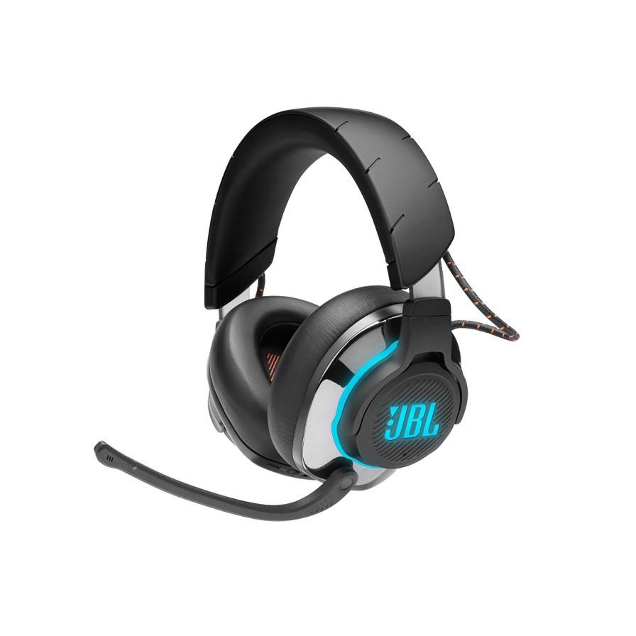 Fone de Ouvido Sem Fio Bluetooth com Microfone QUANTUM 800 RGB Preto JBLQUANTUM800BLK - JBL
