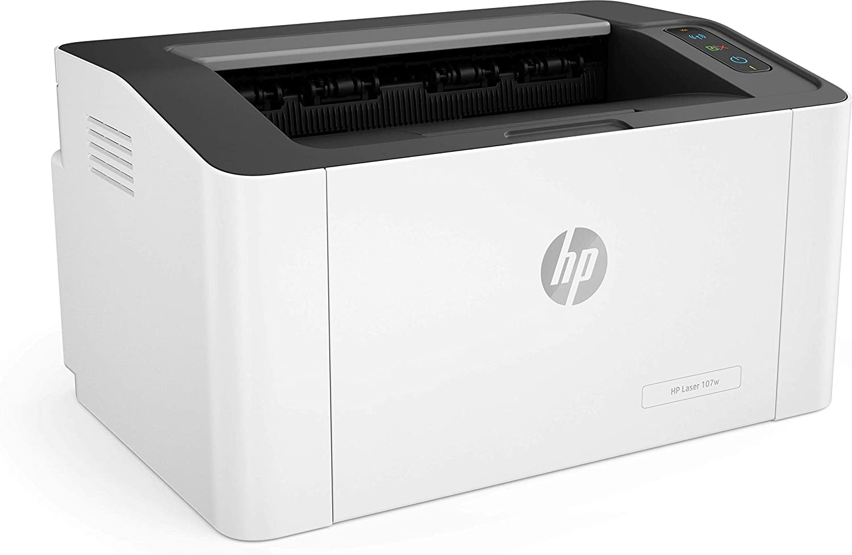 Impressora Laserjet Mono 4ZB78A#696 M107W Wireless - HP