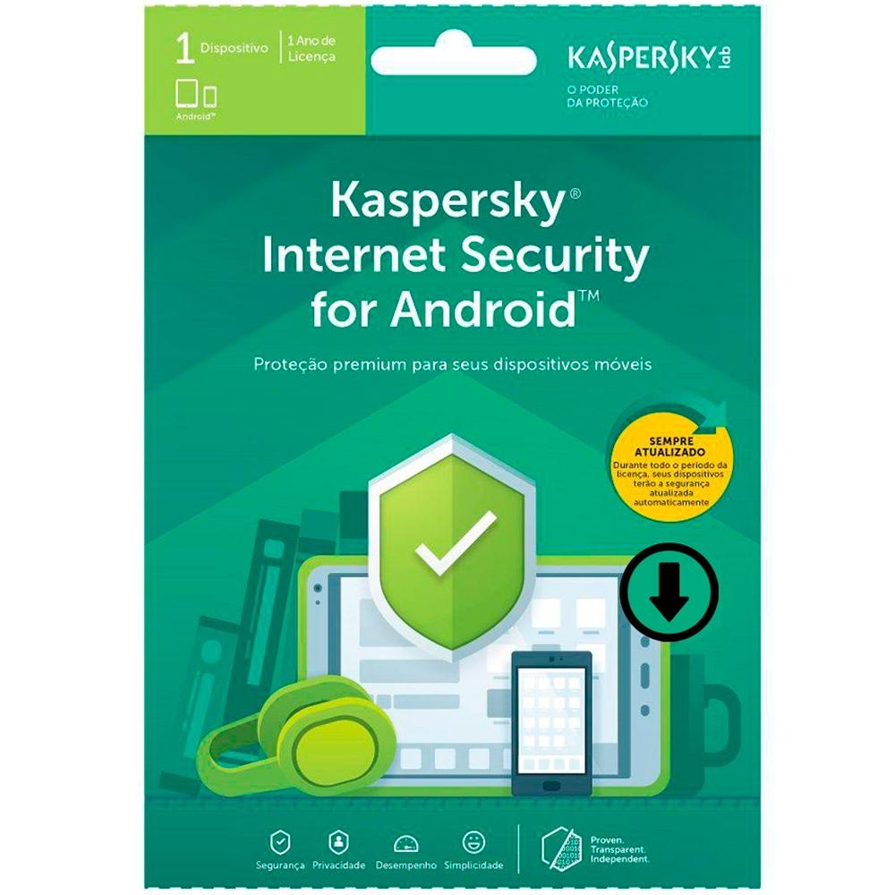 Kaspersky Internet Security 2019 para Android 01 Dispositivo (Digital para Download)
