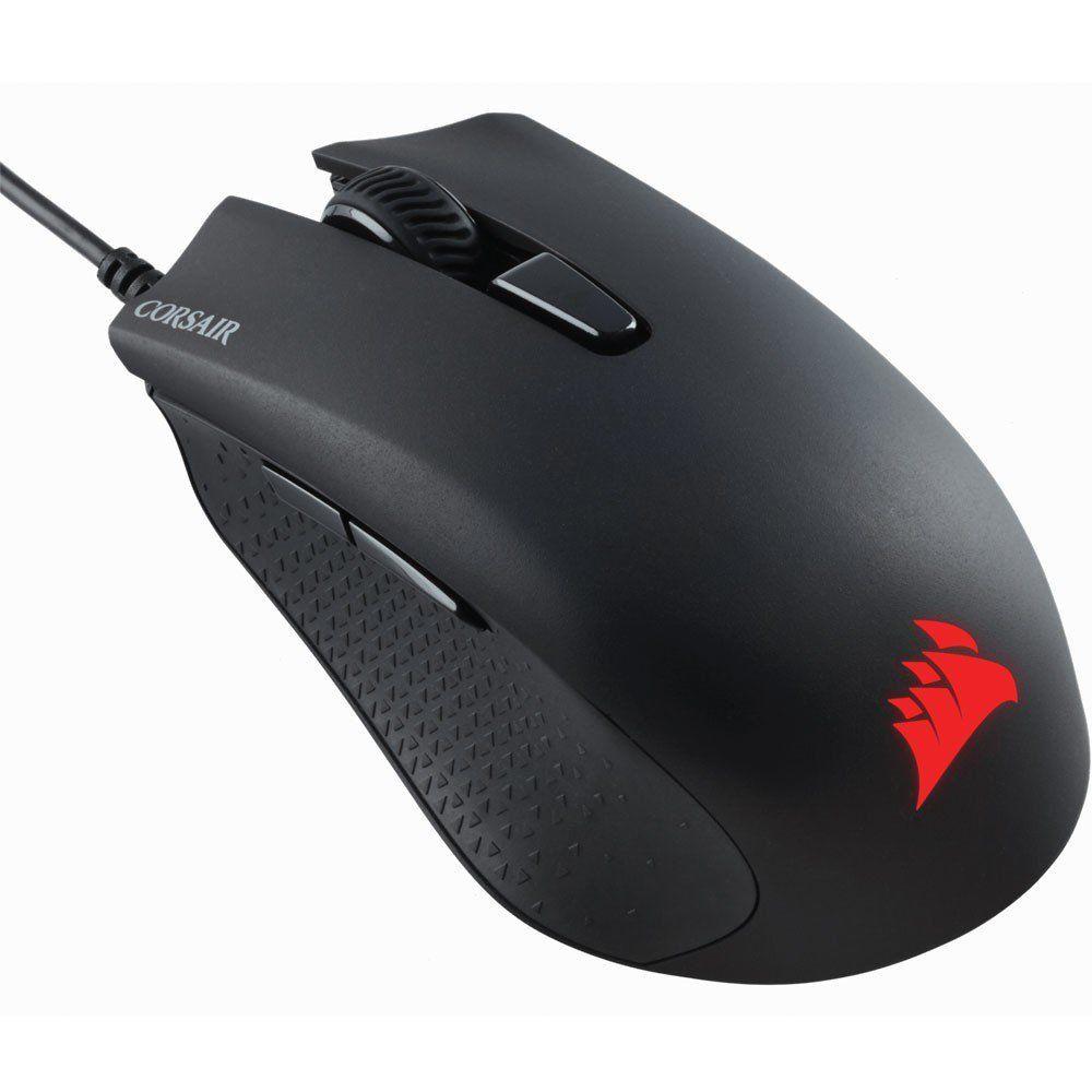 Kit Gaming Teclado K55 e Mouse Harpoon LED RGB ABNT2 CH-9206115-BR - Corsair