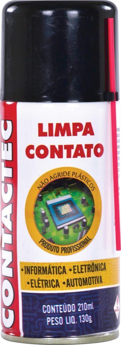Limpa Contato Contactec 130G/210ML 25354 - Implastec