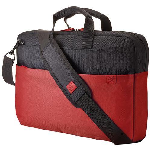 Maleta para Notebook até 15.6 Fusion Preto / Vermelho Y4T18AA#ABL - HP