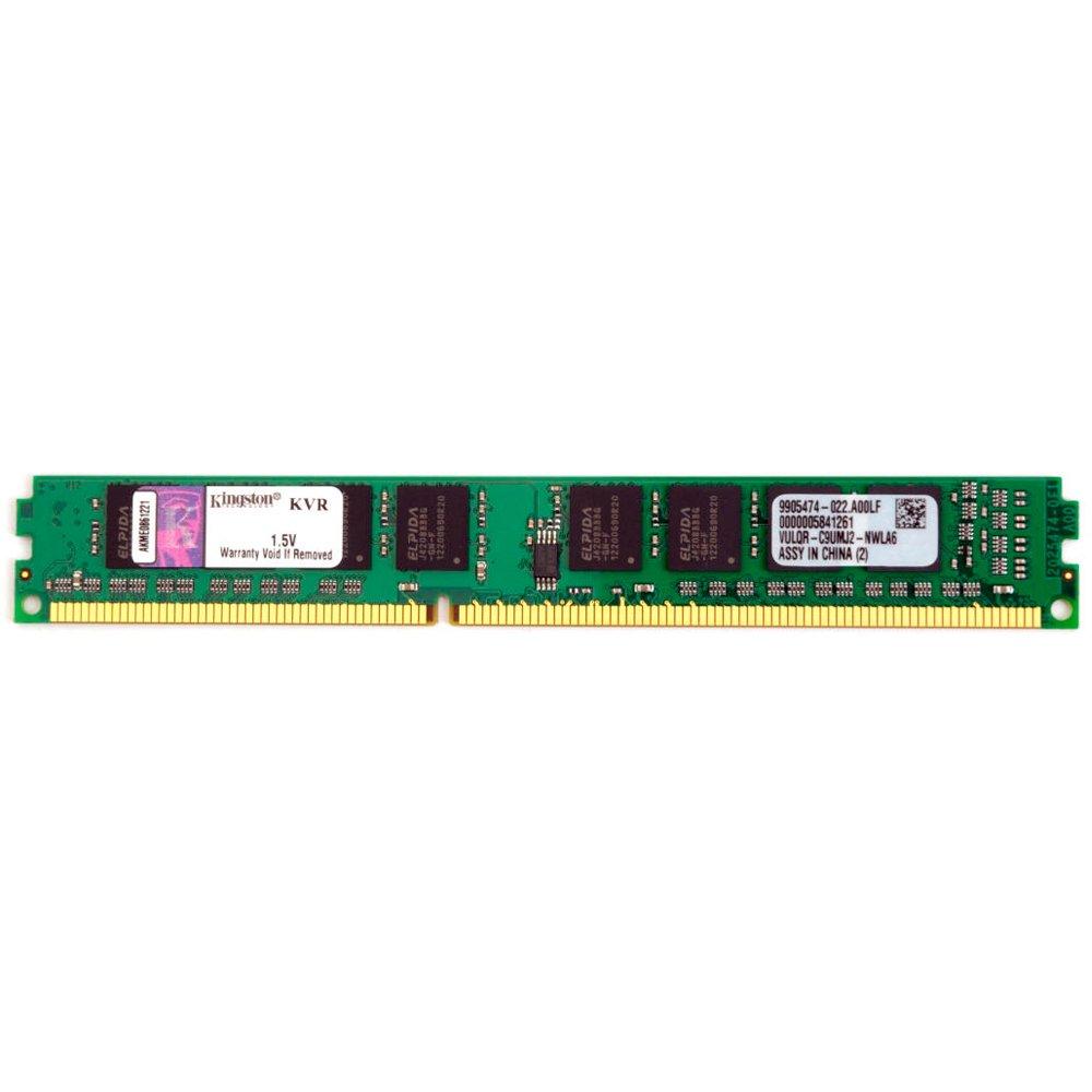 Memória DDR3 4GB 1333Mhz CL9 KVR13N9S8/4 - Kingston