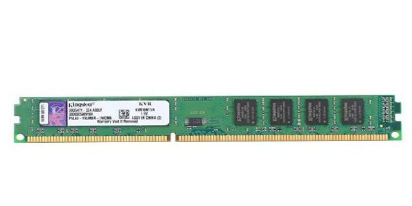Memória de 4GB DDR3 1600Mhz 1.5V KVR16N11/4 - Kingston
