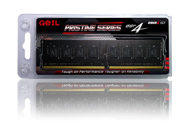 Memória de 4GB DDR4 2400Mhz Prestine Series GAP44GB2400C17SC - Geil