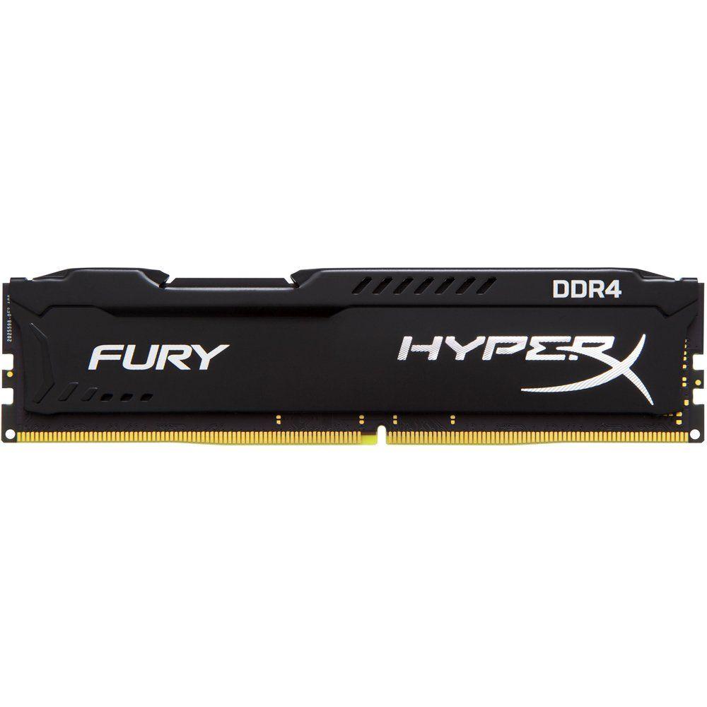 Memória HyperX FURY 4GB 2666Mhz DDR4 CL15 Black Series HX426C15FB/4 - Kingston