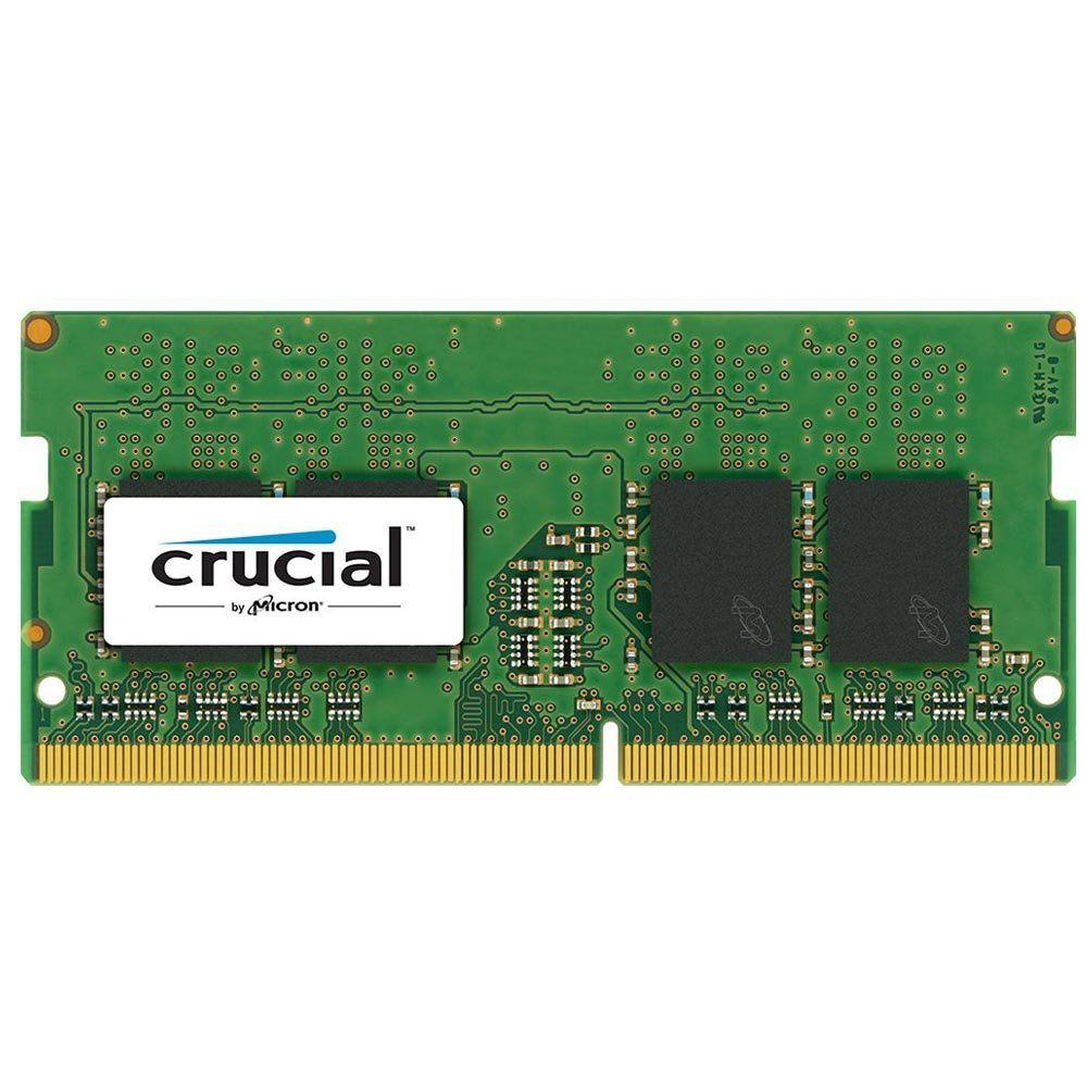 Memória para Notebook 4GB DDR4 2400Mhz 1.2V SODIMM CT4G4SFS824A - Crucial