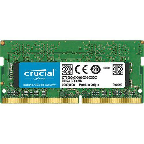 Memória para Notebook 8GB 2666Mhz DDR4 CL19 CT8G4SFS8266 - Crucial