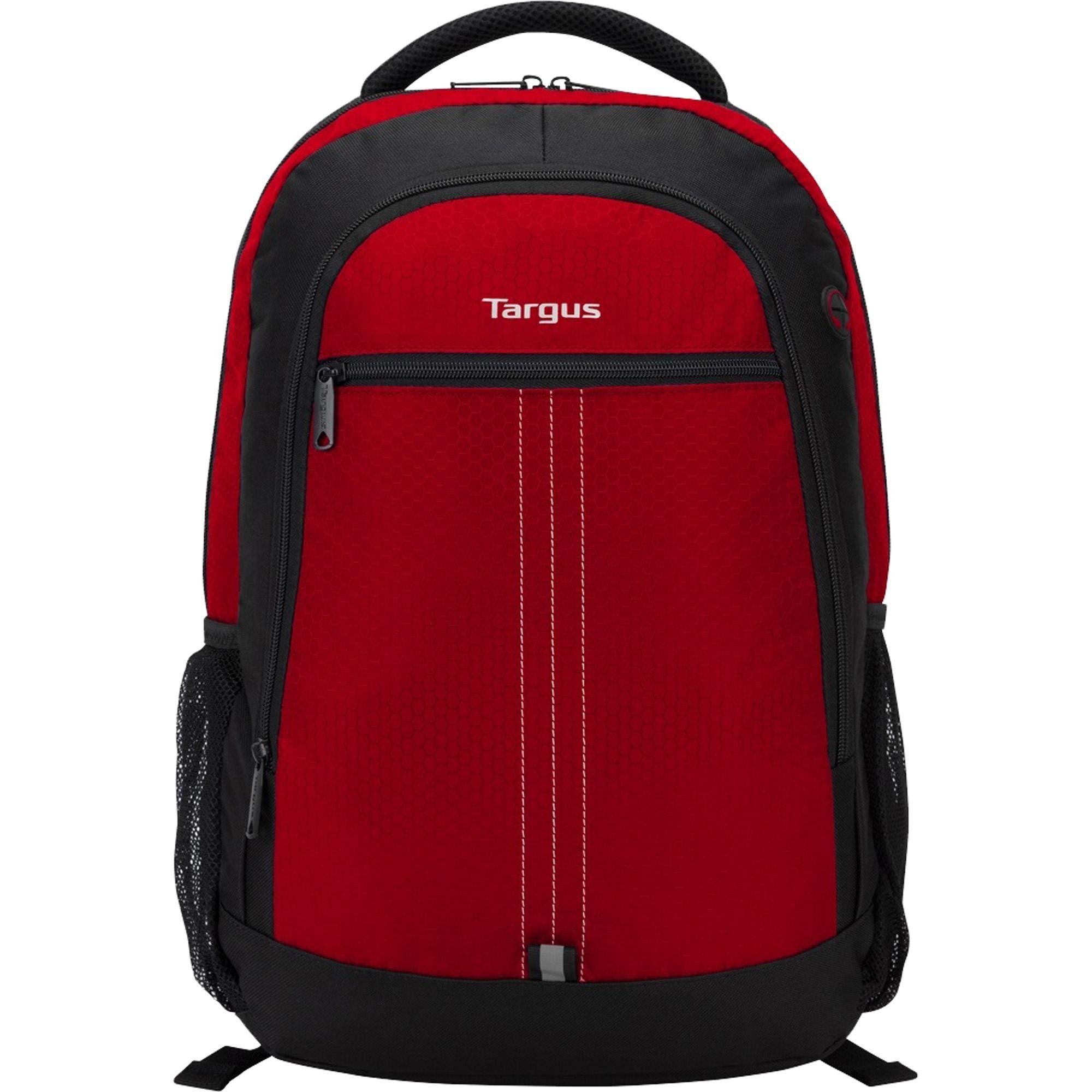 Mochila para Notebook 15.6 CITY TSB89003 Preto/Vermelho 63994 - Targus