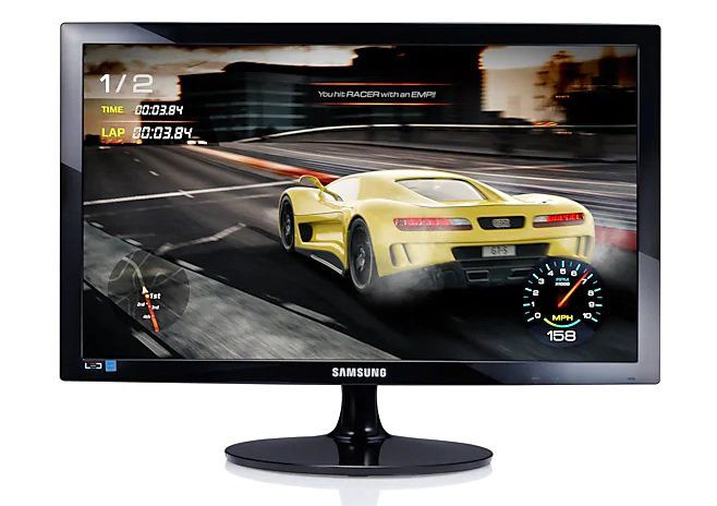 Monitor Gamer LED 24 Full HD HDMI/VGA 75Hz 1ms LS24D332HSXZD - Samsung