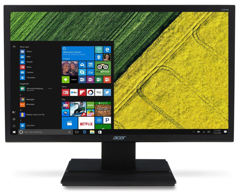 Monitor LED 19.5 VGA/HDMI V206HQL - Acer