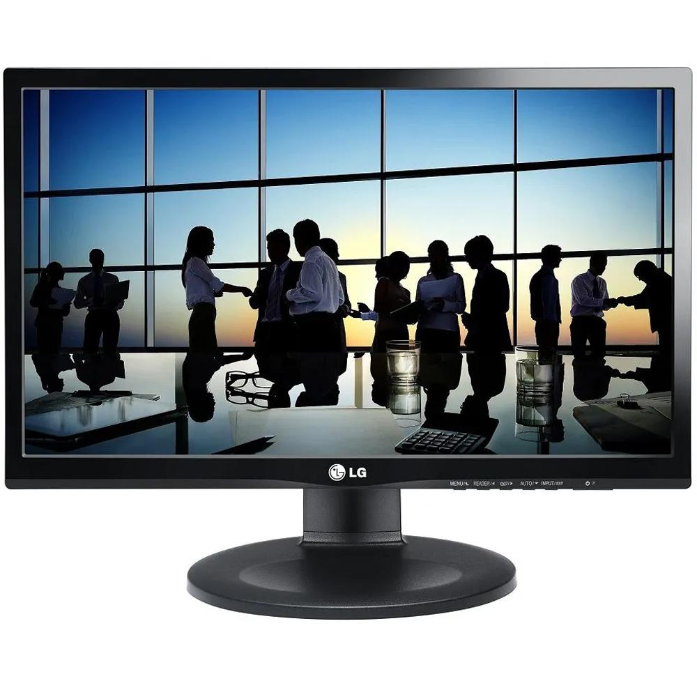 Monitor LED 21.5 Full HD IPS HDMI DisplayPort Altura Ajustável 22MP55PJ - LG