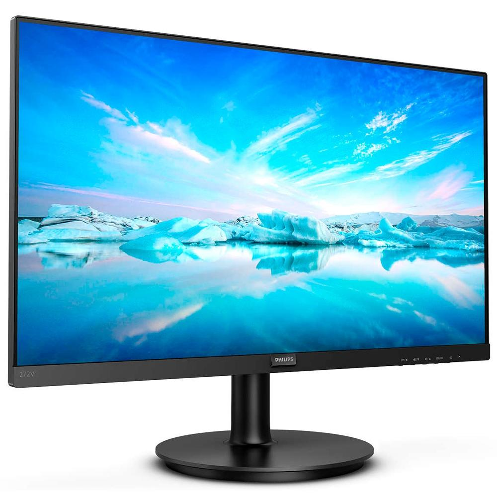 Monitor W-LED 27 Full HD IPS HDMI/DisplayPort Bordas Ultrafinas 272V8A - Philips