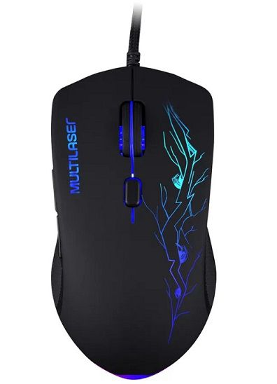 Mouse Gamer 3200DPI LED 7 Cores 6 Botões MO276 - Multilaser
