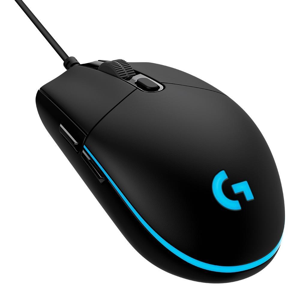 Mouse Gamer G PRO HERO 16K RGB Lightsync 16000DPI 910-005536 - Logitech