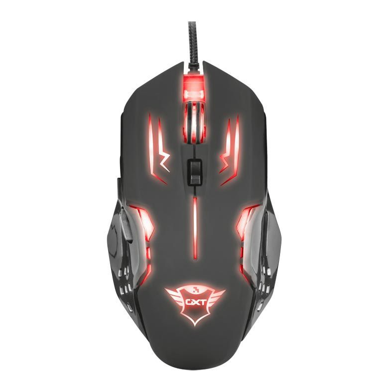 Mouse Gamer GXT 108 Rava 2000DPI Multicolor T22090 - Trust
