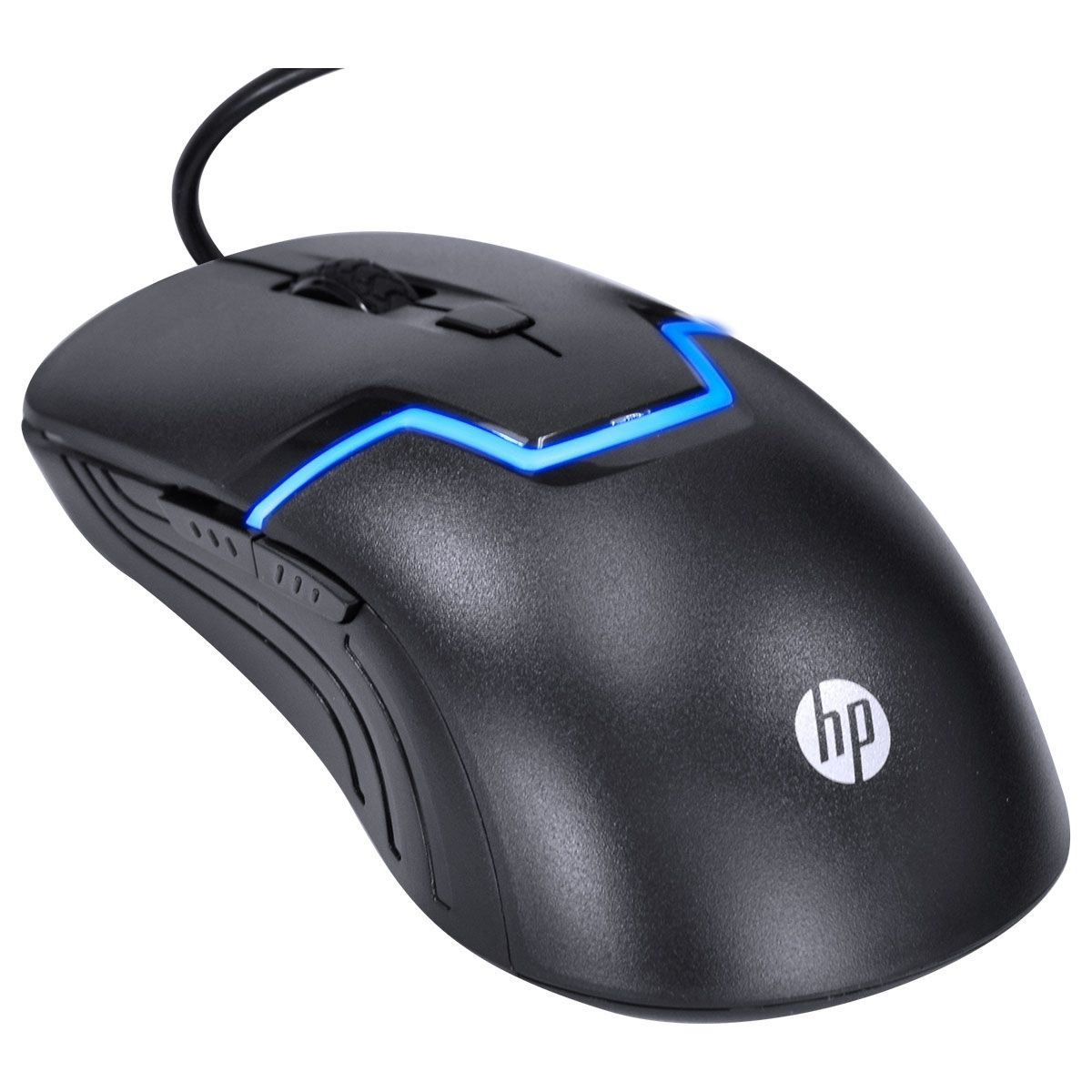 Mouse Gamer M100S Preto 3200DPI - HP