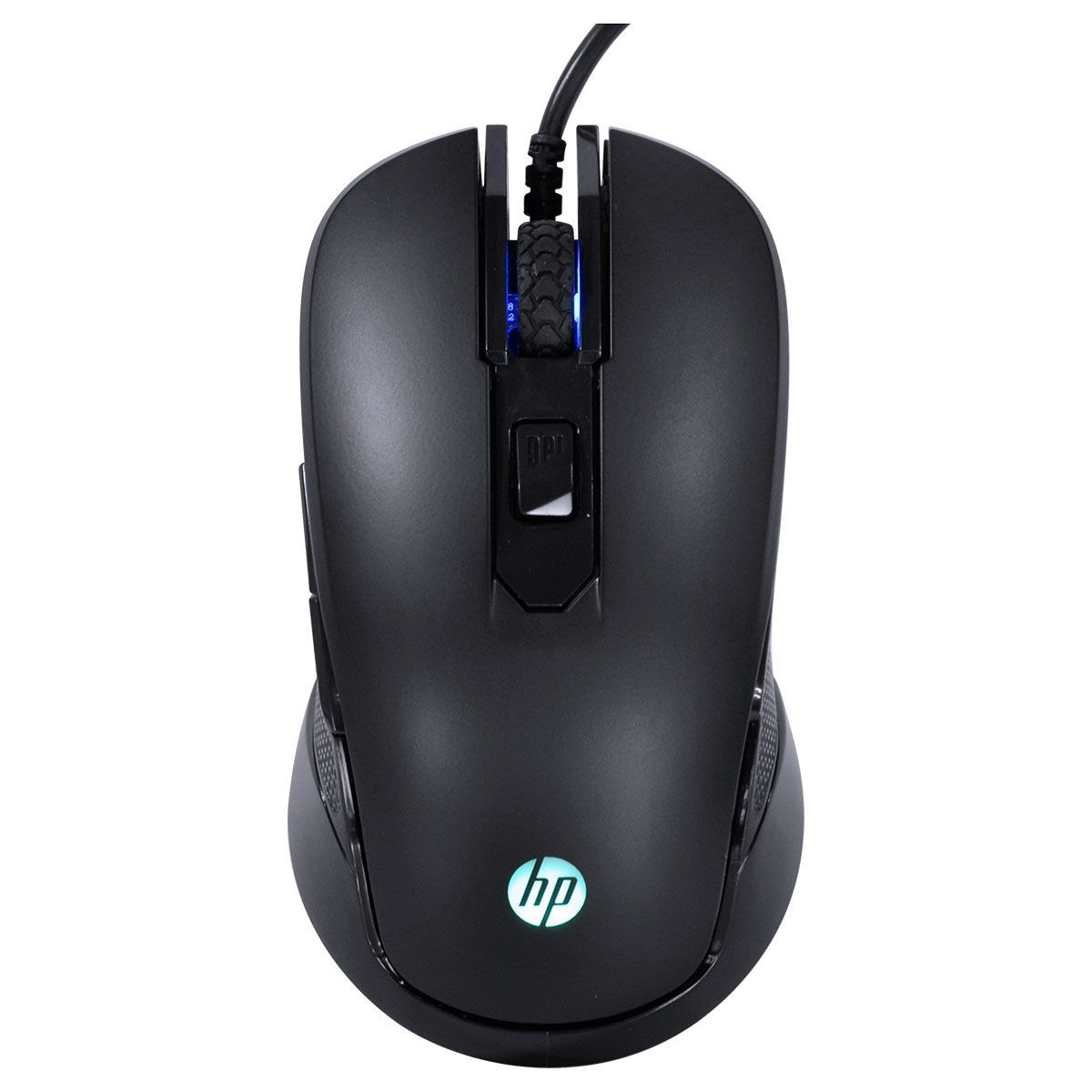 Mouse Gamer M200 Preto 2400DPI - HP