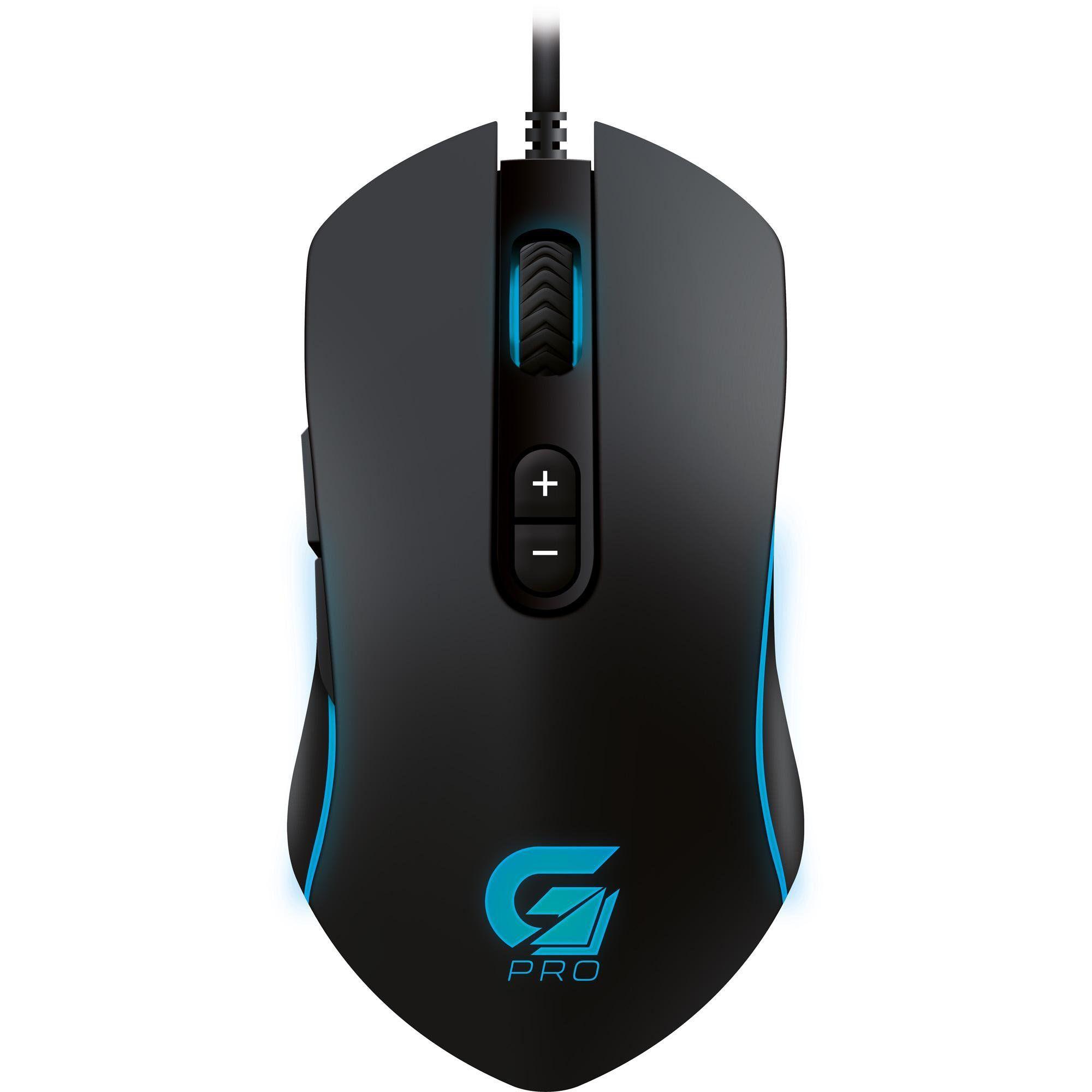 Mouse Gamer PRO M7 RGB 4800DPI Preto 64386 - Fortrek