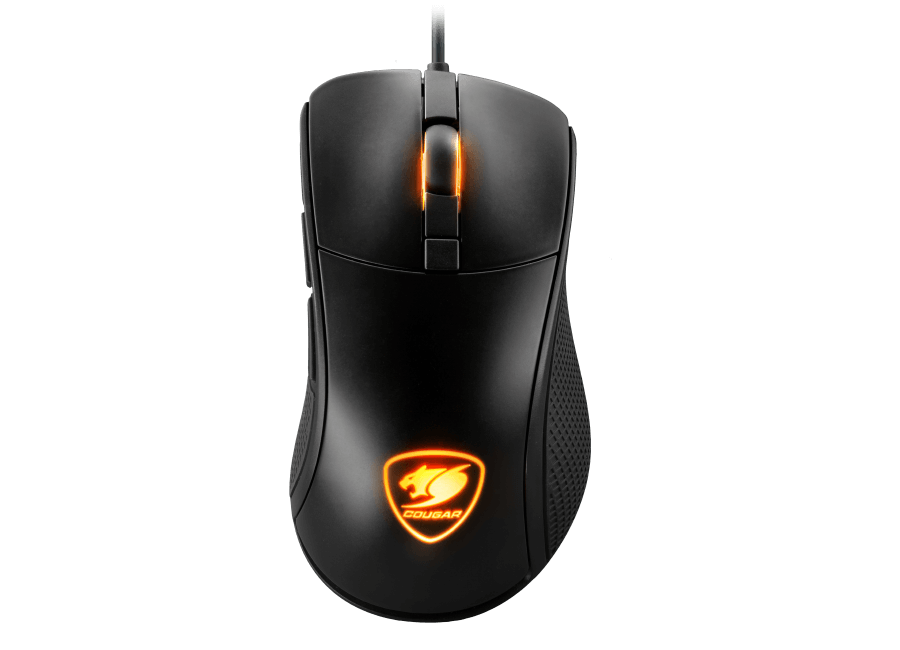 Mouse Gamer Surpassion (Ideal para FPS) 7200DPI com LED RGB e LCD 10822-3 - Cougar