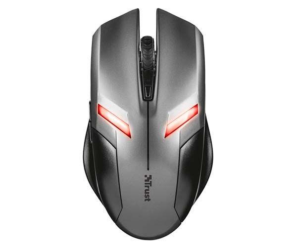 Mouse Gamer Ziva 2000DPI 6 Botões T21512 - Trust