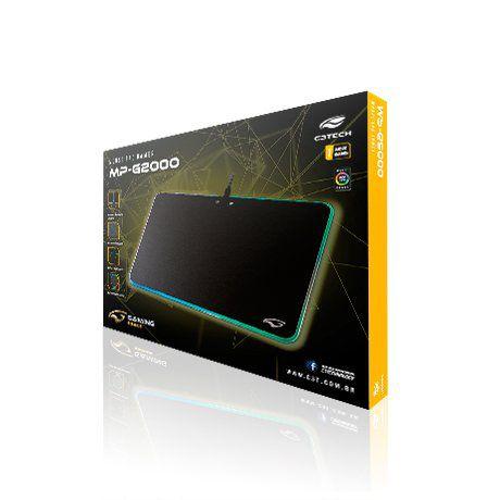 Mouse Pad Game LED RGB MP-G2000BK - C3Tech