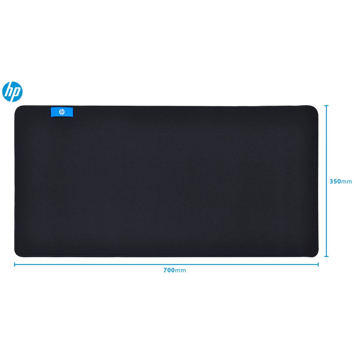 Mouse Pad Gamer MP7035 Preto Grande 700*350*4mm - HP