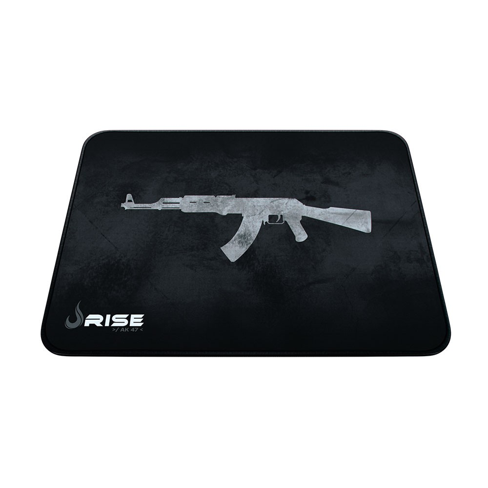 Mouse Pad Rise Gaming AK47 Grande em Fibertek Costurado RG-MP-05-AK - Rise Mode