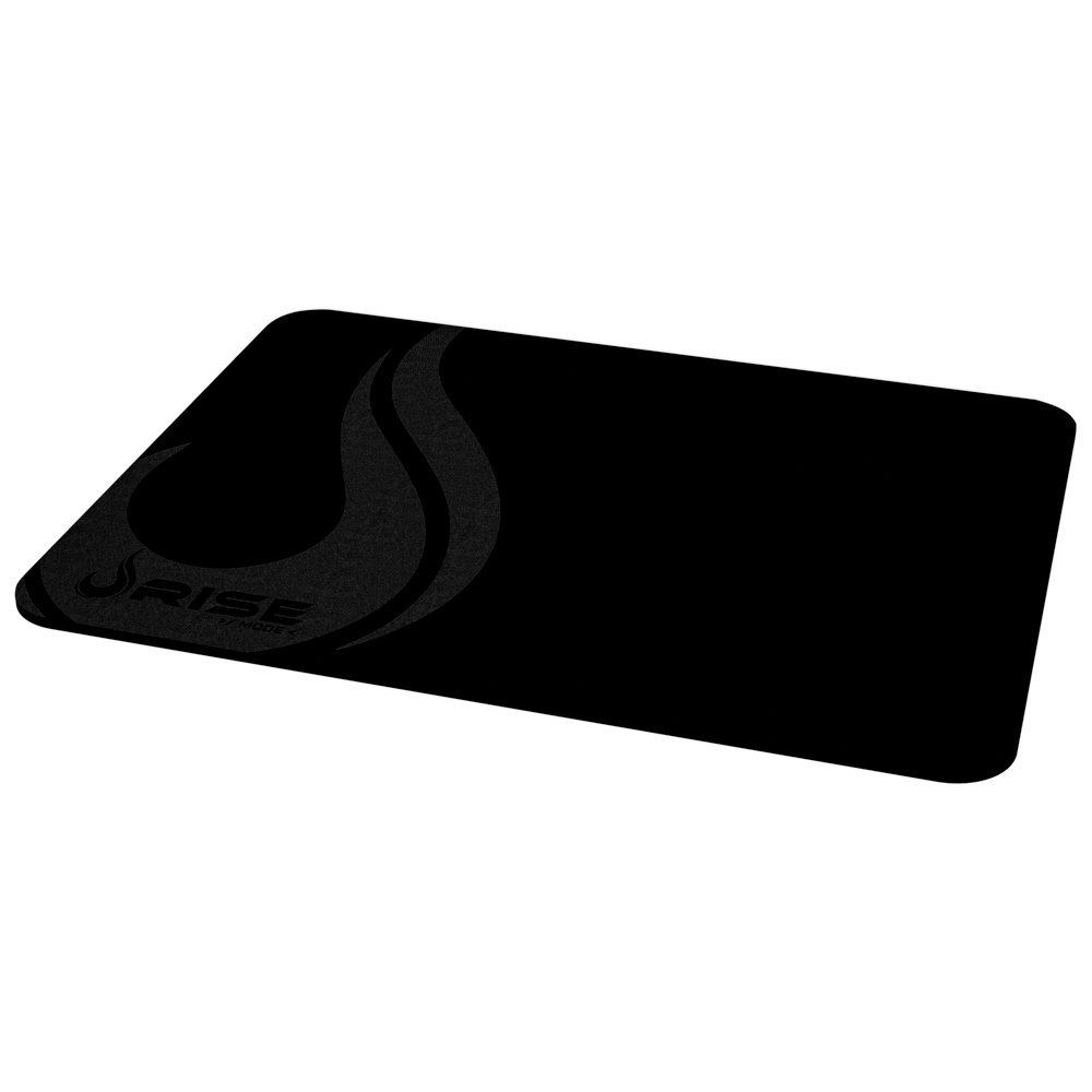 Mouse Pad Rise Gaming Full Black Grande em Fibertek Costurado RG-MP-05-FBK - Rise Mode