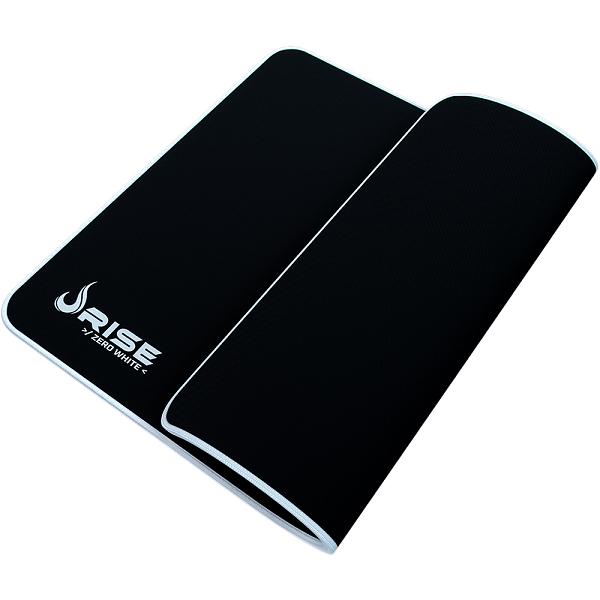 Mouse Pad Rise Gaming Grande Zero Branco em Fibertek Costurado RG-MP-05-ZW - Rise Mode