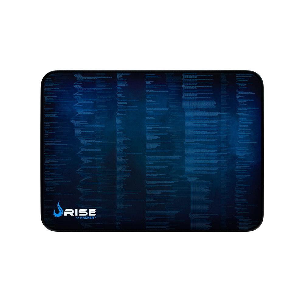 Mouse Pad Rise Gaming Hacker Grande em Fibertek Costurado RG-MP-05-HCK - Rise Mode