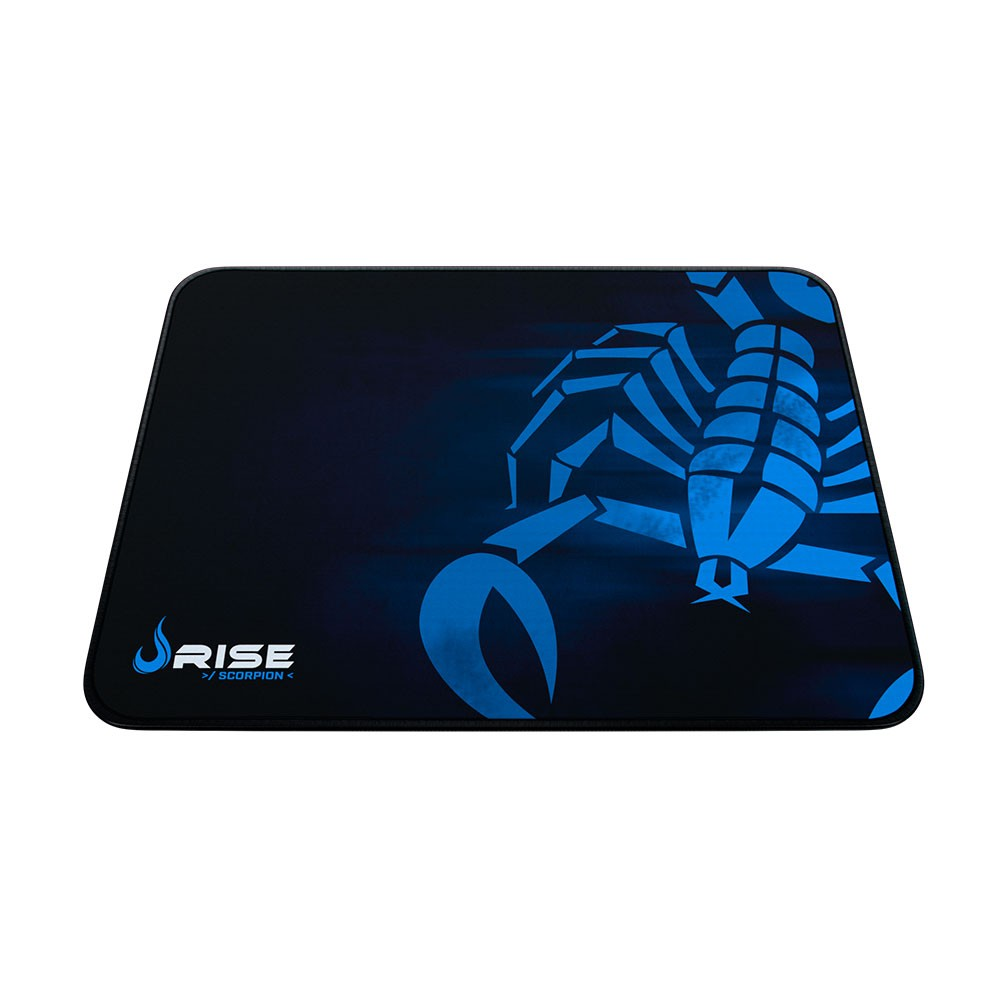 Mouse Pad Rise Gaming Scorpion Grande em Fibertek Costurado RG-MP-05-SK - Rise Mode