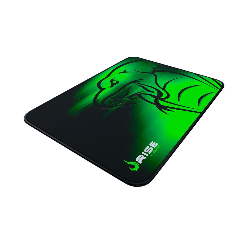 Mouse Pad Rise Gaming Snake Grande em Fibertek Costurado RG-MP-05-SE - Rise Mode