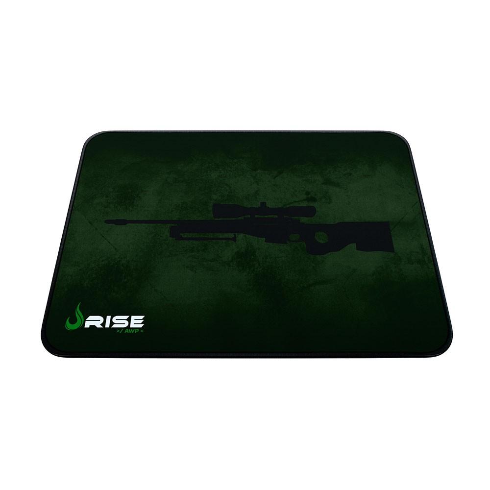 Mouse Pad Rise Gaming Sniper Grande em Fibertek Costurado RG-MP-05-SNP - Rise Mode