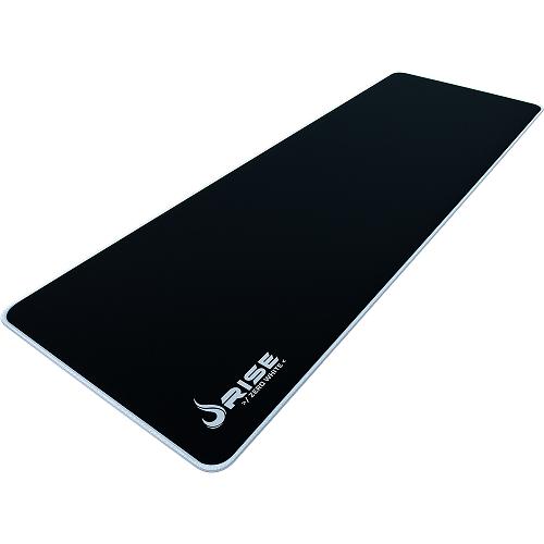 Mouse Pad Rise Gaming Zero Branco Extended em Fibertek Costurado RG-MP-06-ZW - Rise Mode