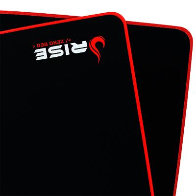 Mouse Pad Rise Gaming Zero Vermelho Extended em Fibertek Costurado RG-MP-06-ZR - Rise Mode