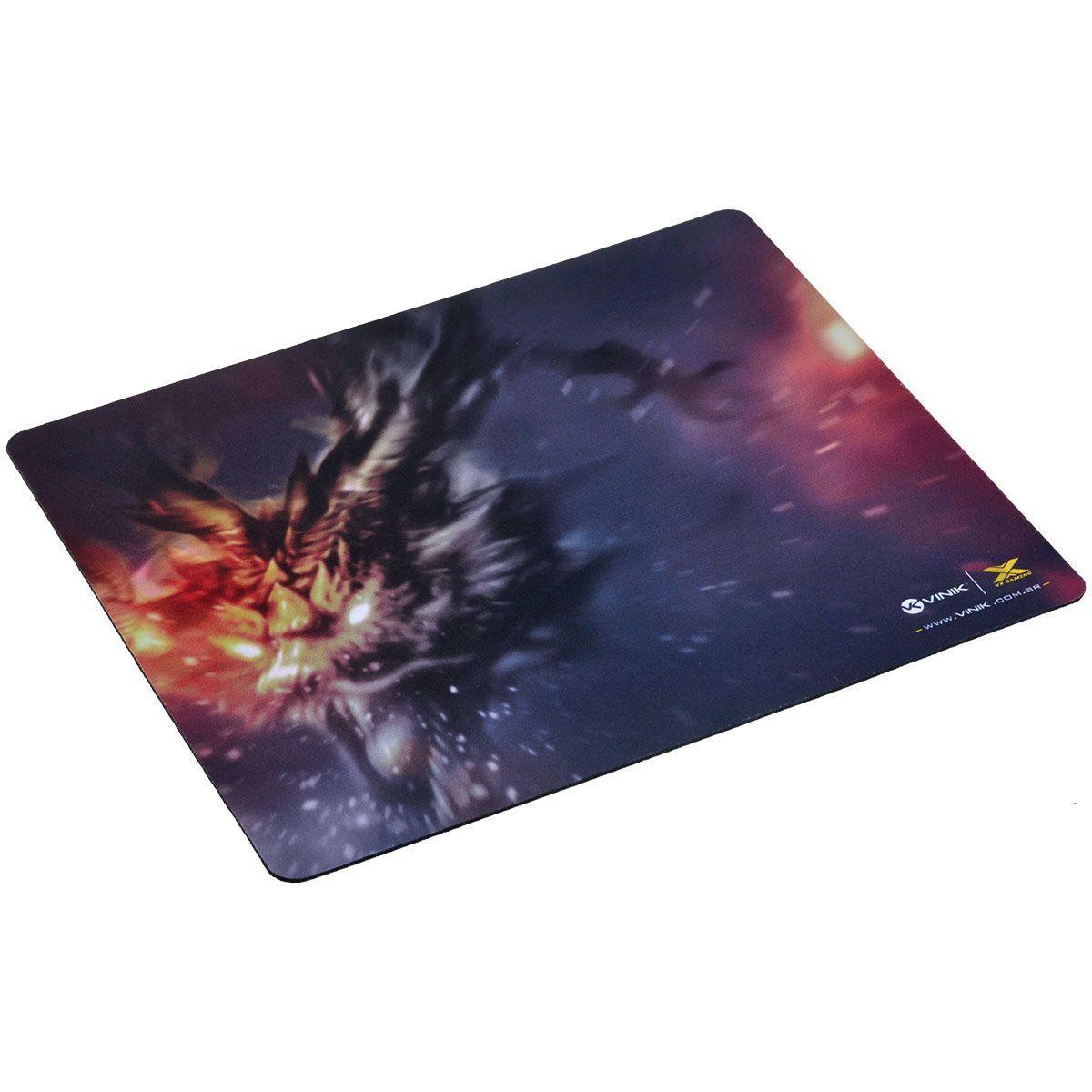 Mouse Pad VX Gamer Fire Dragon 320X270X2MM 29349 - Vinik