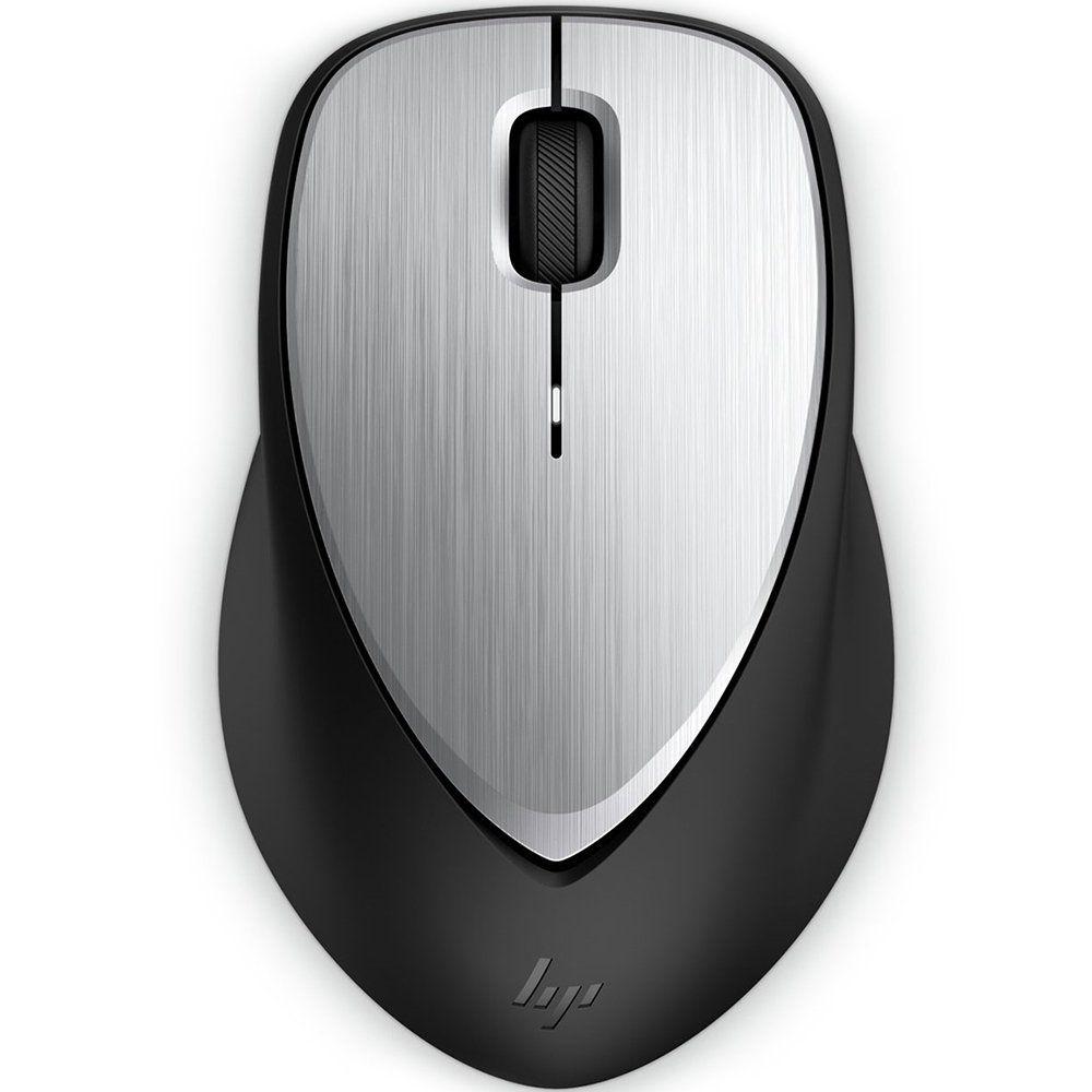 Mouse Sem Fio Laser Envy 500 Preto/Prata (Bateria Recarregável) 2LX92AA - HP