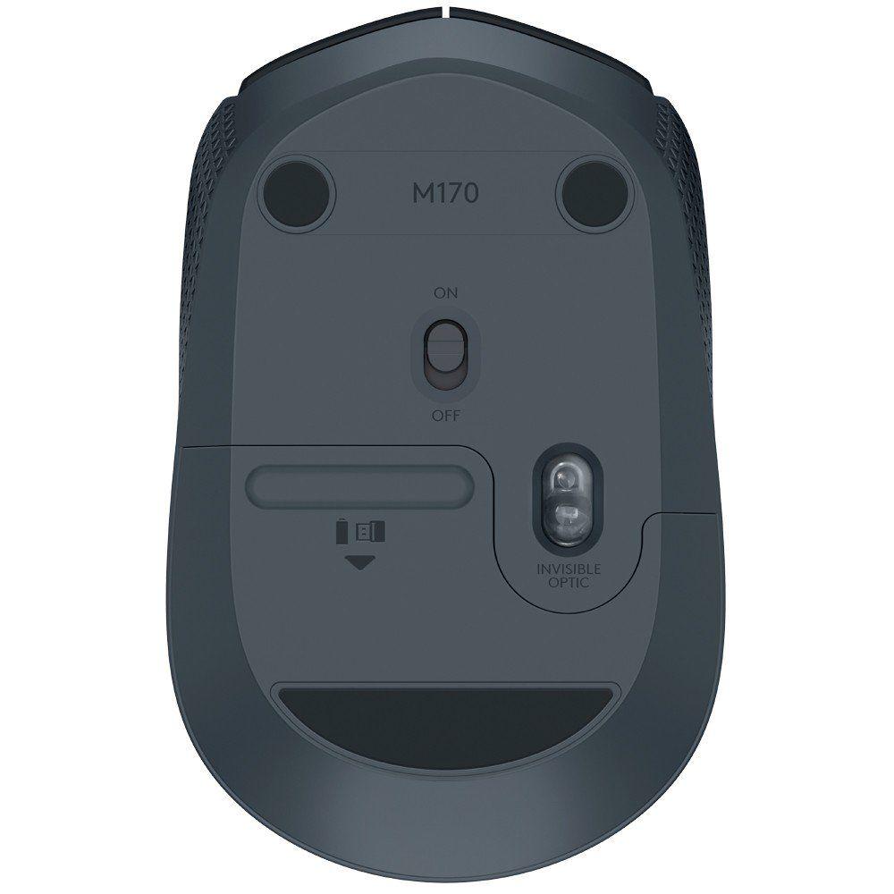 Mouse Sem Fio M170 Preto 910-004940 - Logitech