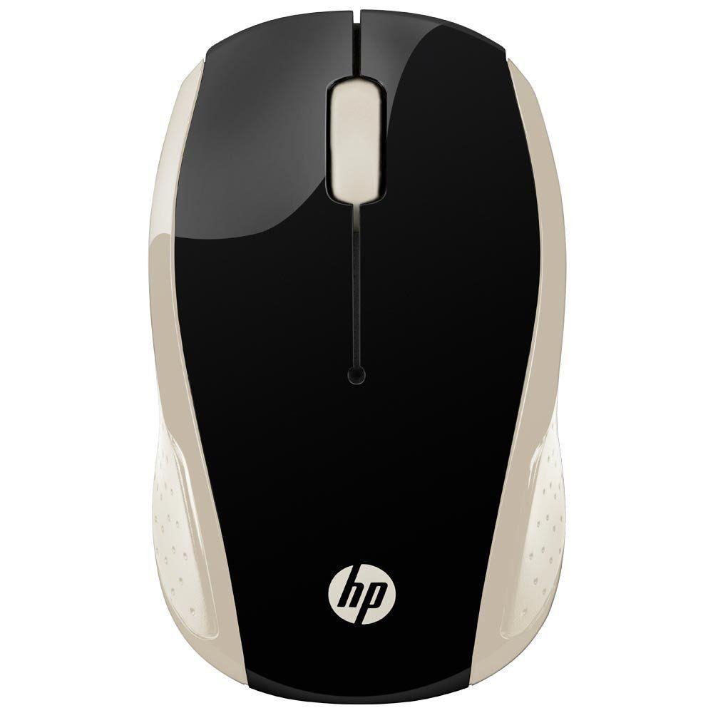 Mouse Sem Fio X200 Oman Dourado ZHU83AA - HP