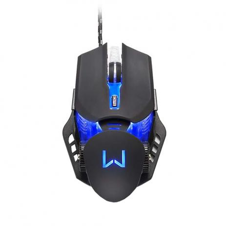 Mouse Warrior Keon 3200DPI Preto MO267 - Multilaser