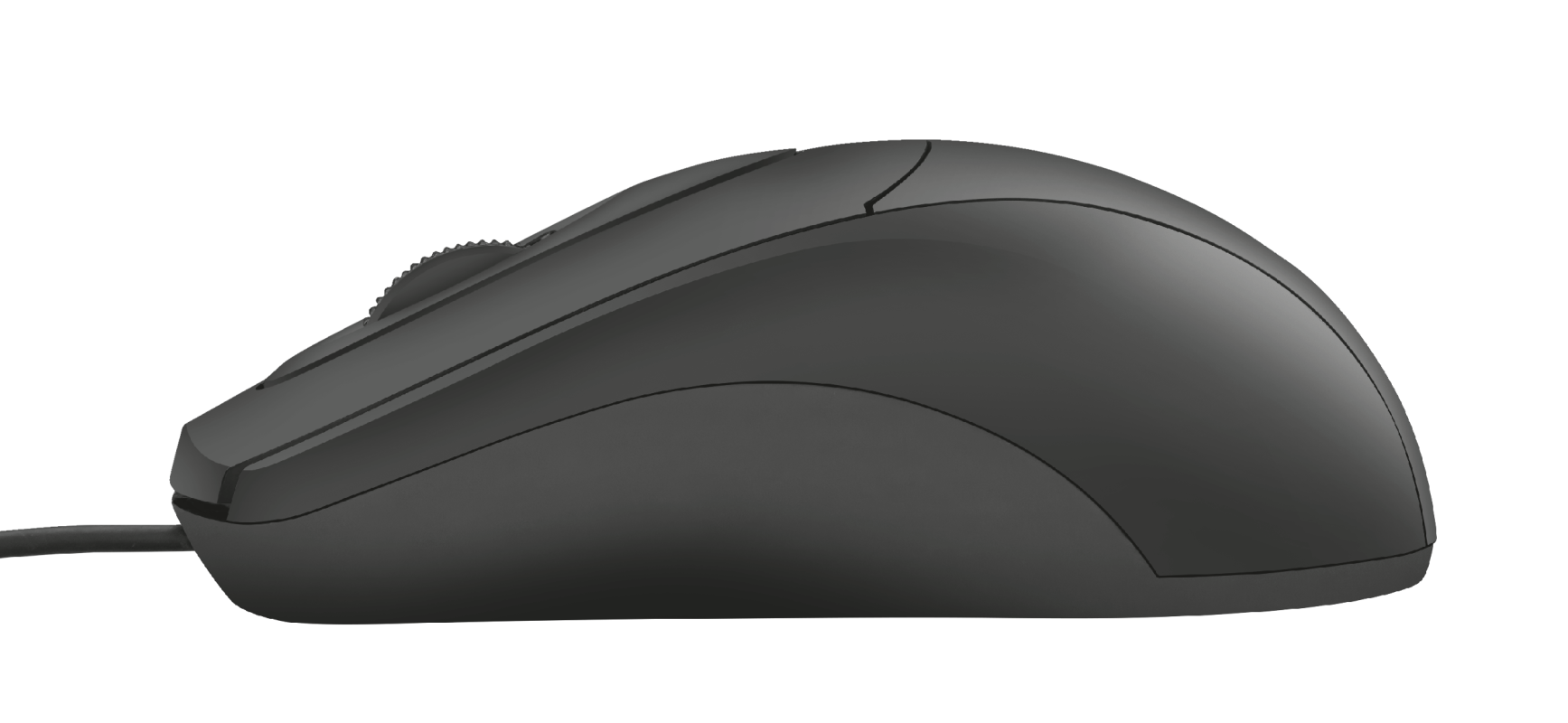 Mouse Ziva Optical 1200 DPI Full Size Preto - Trust