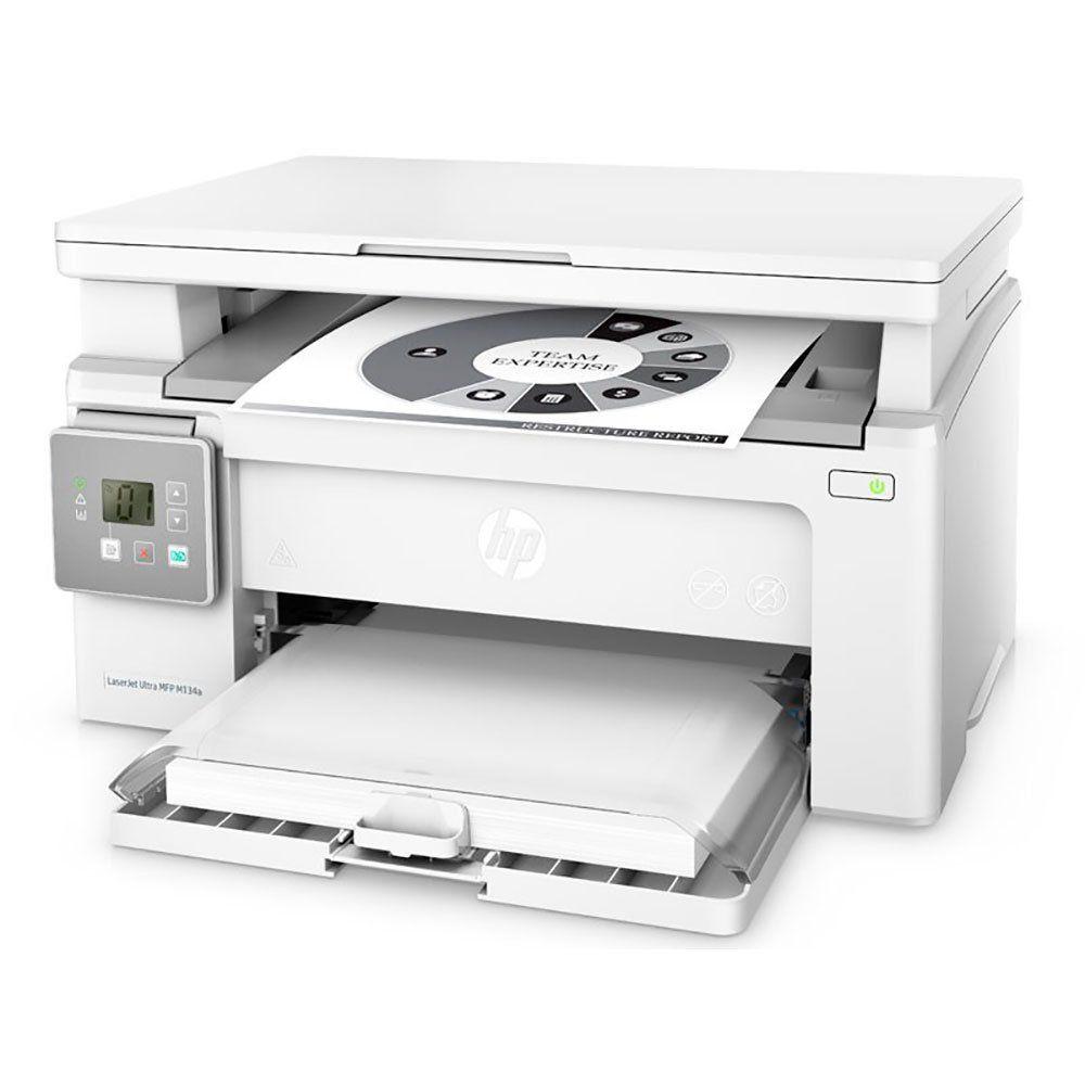 Multifuncional Laser Monocromática LaserJet Ultra M134A HP + 3 Toners 33A Originais - HP