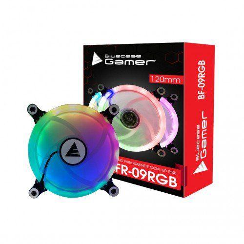 Cooler Para Gabinete 120mm RGB BFR-09RGB - Bluecase Gamer
