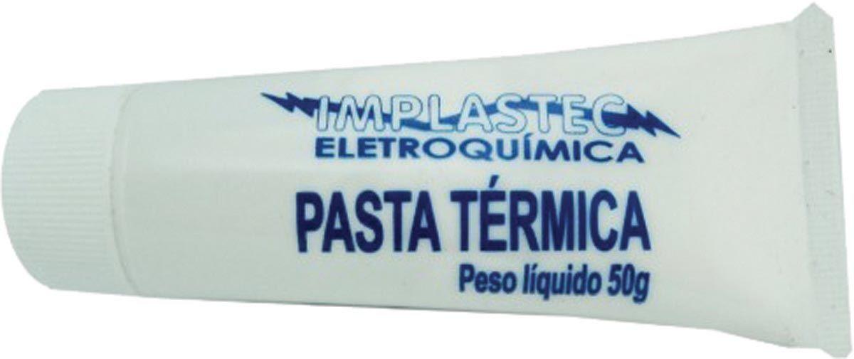 Paste Térmica Bisnaga Aplicadora 50g 15069 - Implastec
