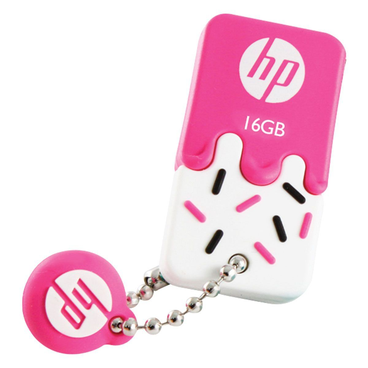 Pen Drive 16GB USB 2.0 Mini V178P Pink HPFD178P-16 - HP