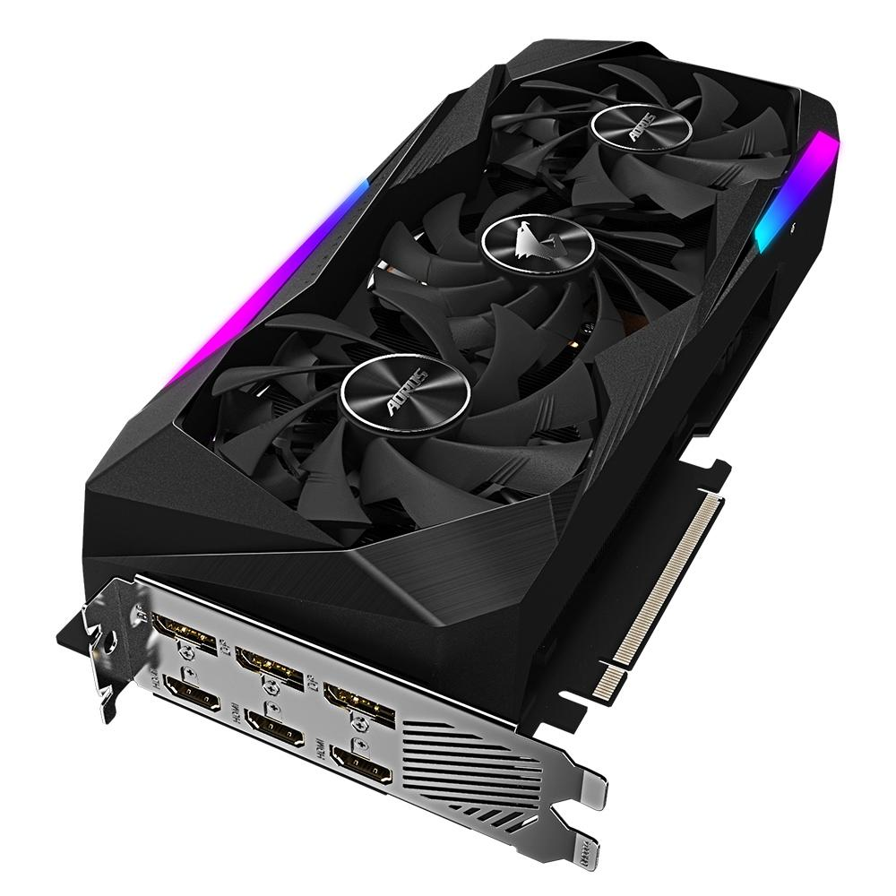 Placa de Vídeo Geforce Aorus RTX 3070 Master 8GB GDDR6 GV-N3070AORUS M-8GD - Gigabyte