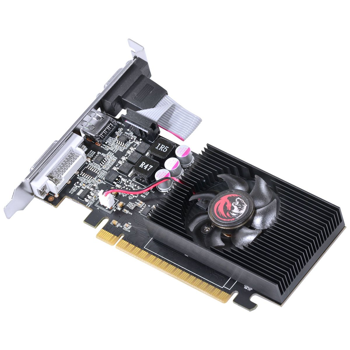 Placa de Vídeo GeForce GT430 2GB 128Bits DDR3 Low Profile PPOV430GT12802D3 - Pcyes